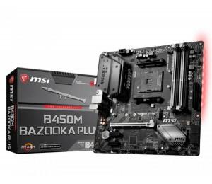 Msi Amd B450 Am4 Matx Gaming Motherboard 4xddr4 2x Pci-e X 1 1x Pci-e X 16 Dvi Hdmi 1x M.2 Gb Lan