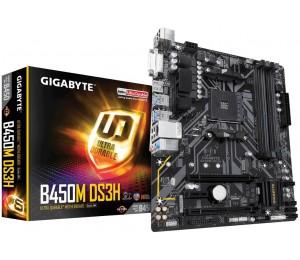 Gigabyte B450m Ds3h Mb Am4 4xddr4 4xsata 1xm.2 Usb3.1 Microatx 3yr Ga-b450m-ds3h