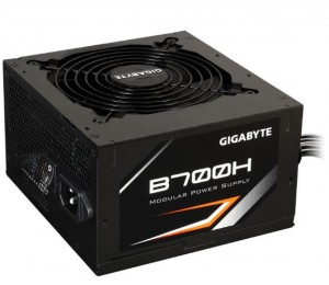 GIGABYTE B700H POWER SUPPLY 700W MODULAR DESIGN 80 PLUS BRONZE 5YR WTY GP-B700H