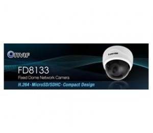 "Vivotek FD8133 Real-Time H.264 MicroSD/ SDHC Card Compact Design Network Camera, 1/ 4"" CMOS sensor 71488"