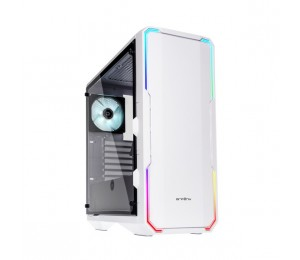 Bitfenix White Enso RGB Mid Tower Chassis BFC-ENS-150-WWWGK-RP