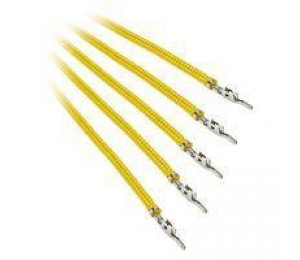 Bitfenix Yellow Sleeved 60cm Alchemy 2.0 Cable Pack BFX-ALC-60CMLY-RP