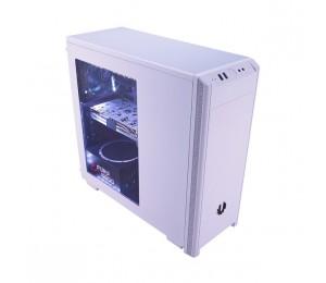 BitFenix Mid Tower Case: Window Chassis USB 3.0 x 1, USB 2.0 x 1, HD Audio, ATX bfx-nov-100-wwwkk-rp