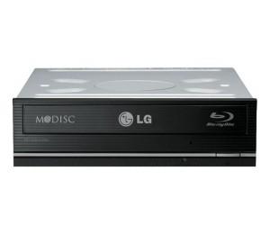 Lg Blu-ray: Writer Blu-ray & Dvd 16x Super Multi Re-writer Sata Black Bh16ns55 Oem