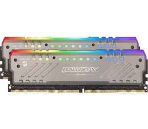 Crucial Ballistix RGB Tracer 32GB Kit (16GBx2) DDR4 2666 MT/ s (PC4-21300) CL16-18-18-38 DR x8 288pin