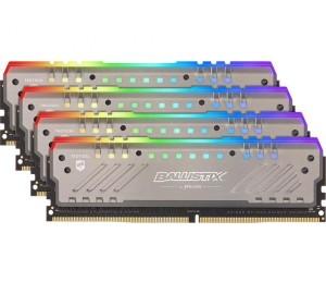 Crucial Ballistix RGB Tracer 32GB Kit (8GBx4) DDR4 2666 MT/ s (PC4-21300) CL16-18-18-38 DR x8 288pin