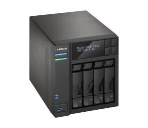 Asustor 4-bay Nas Intel Celeron Quad-core 8gb So-dimm Ddr3l Gbe X 2 Usb 3.0 Type A X3 & Usb 3.0