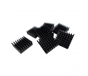 Qnap Heatsink For M.2 Ssd Module 14*14mm Black Self Adhesive 8pcs. Hs-m2ssd-01