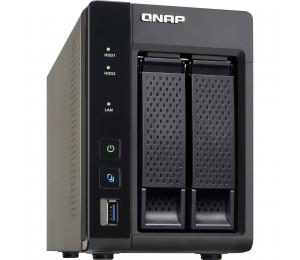 QNAP TS-253A-4G, NAS, 2BAY (NO DISK), 4GB, CEL QC-1.6GHz, USB, GbE(2), TWR, 2YR TS-253A-4G