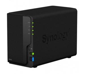 "Synology DiskStation DS218 2-Bay 3.5"" Diskless 1xGbE NAS (Tower) (HMB) Realtek RTD1296 quad-core"
