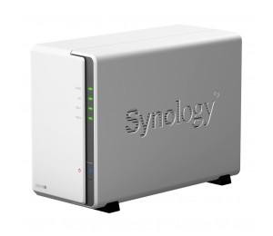 "Synology Diskstation Ds218j 2-bay 3.5"" Diskless 1xgbe Nas (tower) (hmb) Marvell 1.3ghz 512mb Ram"