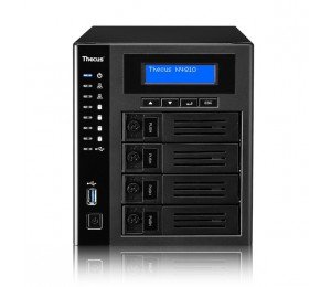 Thecus N4810 4Bay Tower NAS RAID (0, 1, 5, 6, 10, JBOD), USB 3.0 Type C, Display Port, HDMI, SPDIF