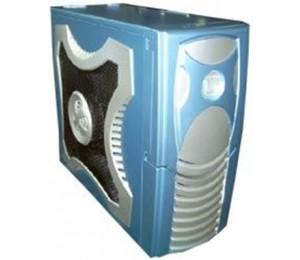 Generic Xclio Gamer Atx Midi Case - Blue W/ O Psu Therm& Noise Reduction (ls) Caatxclioblue