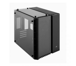 Corsair Crystal Series 280x Tempered Glass Micro-atx Case Black Cc-9011134-ww