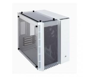 Corsair Crystal Series 280x Tempered Glass Micro-atx Case White Cc-9011136-ww