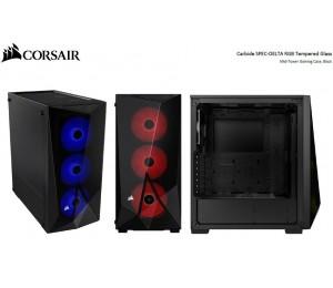 Corsair Carbide Series Spec-Delta Rgb Tempered Glass Mid-Tower Atx Gaming Case Black Cc-9011166-Ww