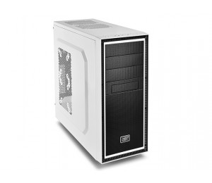 Deepcool Tesseract Bf Mid Tower Case 1 X 120mm Fan White Tesseract Bf Wh