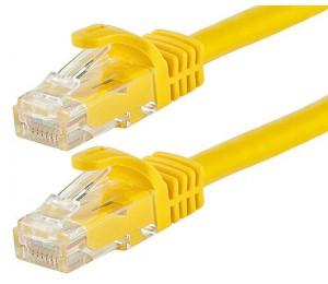 Astrotek Cat6 Cable 25cm/ 0.25m - Yellow Color Premium Rj45 Ethernet Network Lan Utp Patch Cord