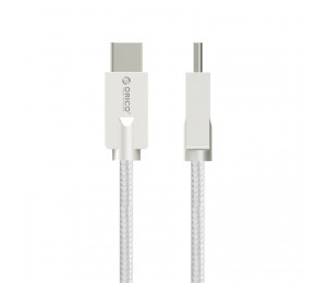 Orico 1m Usb2.0 Type-a To Reversible Type-c Charge & Sync Cable Orico Hcu-10-sv