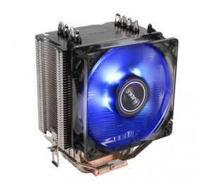 Antec C40 Air Cpu Cooler 92mm Pwm Blue Led Fan Intel 775 115x 1366. Amd: Am2( + ) Am3 Am3+ Fm1