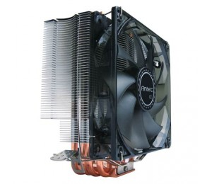 Antec C400 Air Cpu Cooler 120mm Blue Led 77 Cfm Intel 775 115x 1366 2011 Amd: Am2 Am2 + Am3 Am3+
