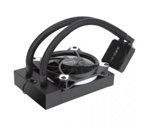 Antec Kuhler K120 Liquid Cpu Cooler Low Profile Pwm Fan Teflon Coated Tubing Lga 2066 2011 Am4