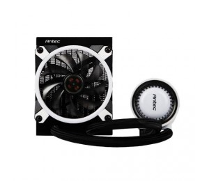 Antec Mecury 120 Rgb Liquid Cpu Cooler Large Pump Efficient Pwm Radiator Fan Graphite Bearings