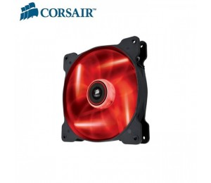 Corsair Air Flow 140mm Fan Quiet Edition w/ Red LED 3 PIN - Superior cooling performance and LED