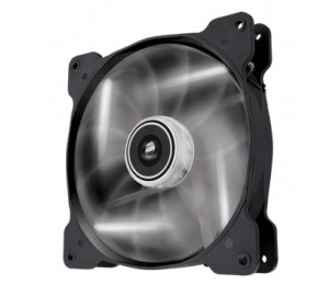 Corsair Air Flow 140mm Fan Quiet Edition/ White LED 3 PIN - Superior cooling performance and LED
