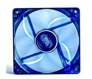 Deepcool Case Fan 120mm X 25mm Transparent Frame With Blue Led Sf1200bl