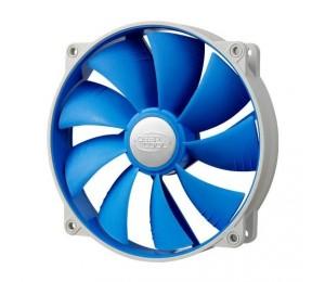 Deepcool Ultra Silent 140mm X 25mm Ball Bearing Fan With Anti-vibration Frame Sf-uf140