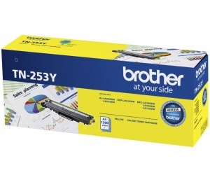 Brother Tn-253Y Yellow Toner Cartridge To Suit - Hl-3230Cdw/ 3270Cdw/ Dcp-L3015Cdw/ Mfc-L3745Cdw/
