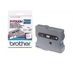 Brother 24mm Black On White TX Tape TX-251