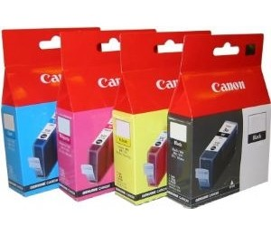 Canon Bci-3ey Yellow Ink Cart For Bjc3000 6000 6500 Bci-3ey