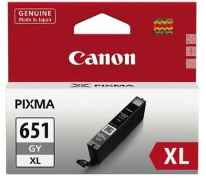 Canon CLI651XLGrey Cartridge MG5460 High Capacity CLI651XLGY