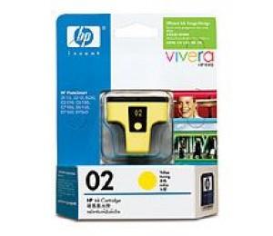 Hp 02 Yellow Original Ink Cartridge C8773wa