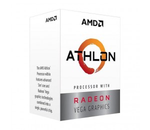 Amd Athlon 200ge 4 Core Am4 Cpu 3.2ghz 4mb 35w With Powerfull Radeon Vega Graphics Yd200gc6fbbox