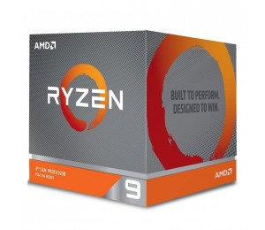 AMD Ryzen 9 3900X 12 Core Am4 Cpu 3.8Ghz 4Mb 105W W/Wraith Prism Cooler Fan 100-100000023Box