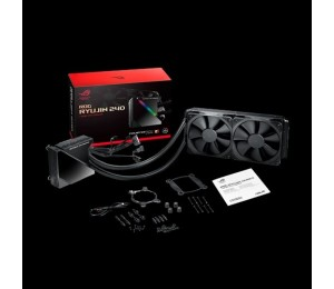 Asus Rog Ryujin 240 All-In-One Liquid Cpu Cooler Oled Aura Sync Noctua Ippc 2K Pwm 120Mm Radiator