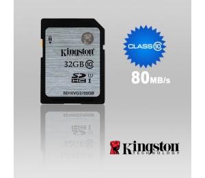 Kingston 32GB SDHC Class 10 SDHC Card Class 10 UHS-I (LS) SD10VG2/32GBFR