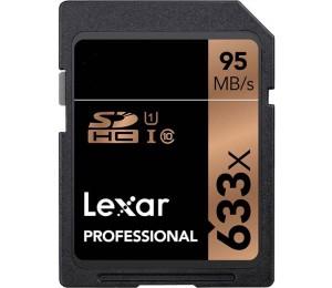 Lexar Professional 633X 16Gb Sdhc Uhs-I Card - Upto 95Mb/ S Lsd16Gcb1Ap633