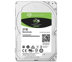 """Seagate 3tb 2.5"""" Barracuda 5400rpm 15mm 128mb Cache Notebook/ Laptops Hdd (st3000lm024) 2 Years"""