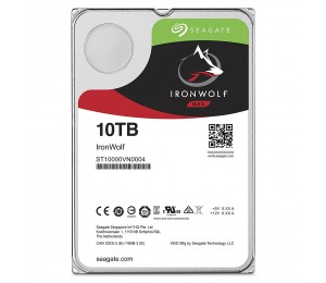 """Seagate 10TB 3.5"""" IronWolf SATA3 NAS 24x7 7200RPM 256MB Cache. Performance HDD. 3 Years Warranty"""