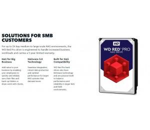 """Western Digital Red 4tb Pro Nas 256mb Cache 3.5"""" 7200rpm Sata3 6gb/s (wd4003ffbx) Wd4003ffbx"""