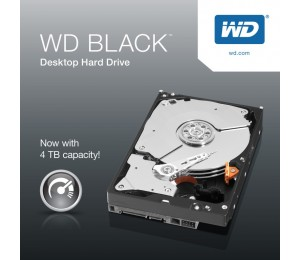 "Western Digital Black 4TB SATA3 3.5"" 7200RPM 6Gb/ s 256MB Cache HDD (WD4005FZBX) WD4005FZBX"