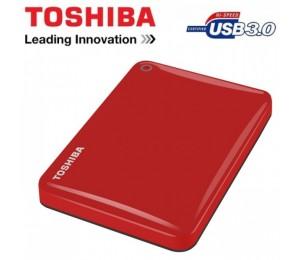 Toshiba 2TB Canvio RED USB3.0 External 2.5 Hard Drive HDTC820AR3C1