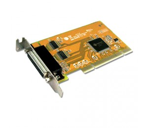 Sunix Mio5079al Pci 2-port Serial Rs-232 And 1-port Parallel Ieee1284 Card - Low Profile Mio5079al