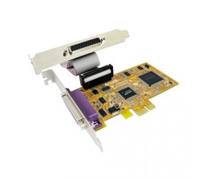 Sunix Par5418A Pcie 2-Port Parallel Ieee1284 Card Par5418A