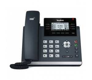 Yealink 3 Line Mono IP Phone 2xGbE/ Greyscale/ PoE Support SIP-T42S