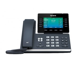 """Yealink T54W 16 Line Ip Hd Phone 4.3"""" 480 X 272 Colour Screen Hd Voice Dual Gig Ports Built In Bluetooth"""